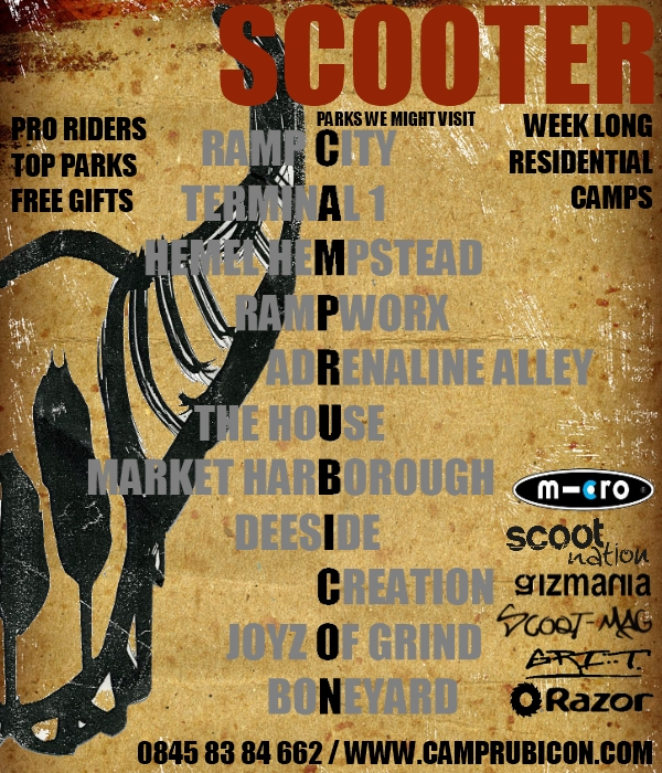 Scooter Camp Poster 2.3u (he)