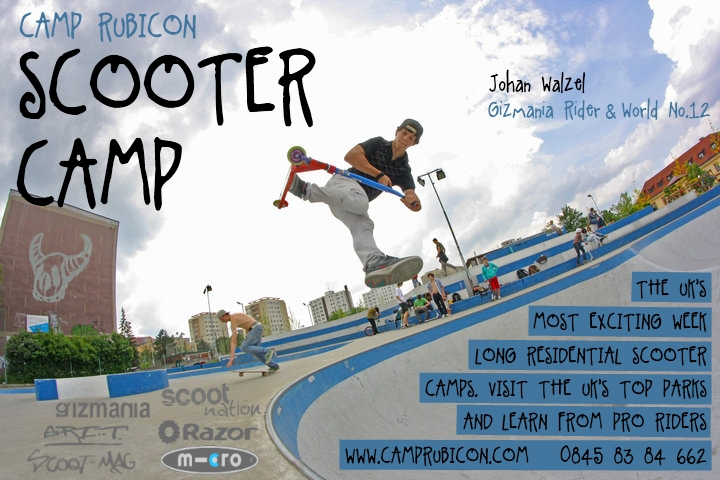 Scooter Camp Poster 3.0