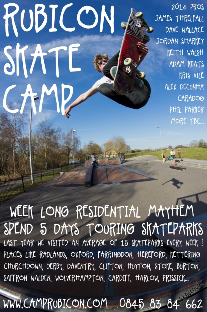 rubicon skate camp 2014 ft james threlfall 0.1s