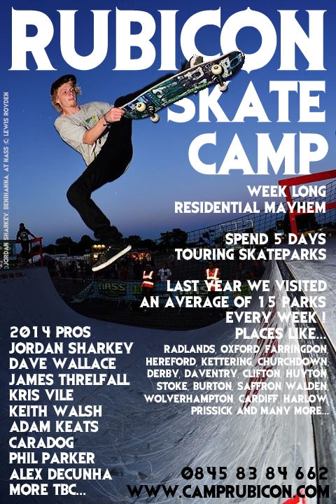 rubicon skate camp 2014 ft jordan sharkey