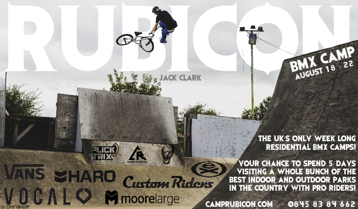 rubicon bmx camp 2014 ft jack clark
