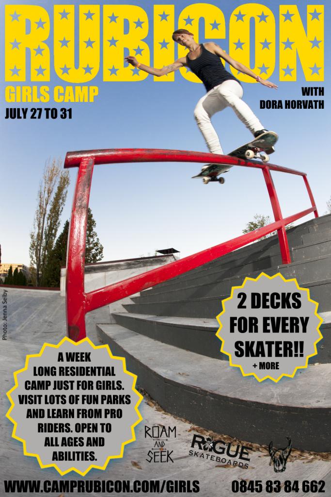 girls skate camp 2015 ft dora horvath