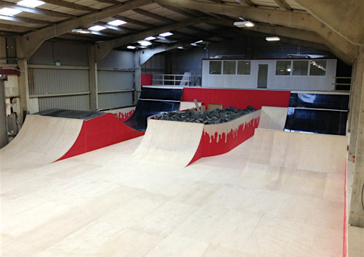corby foam pits resi ramps adrenaline alley skatepark