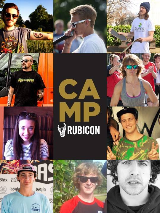 lots of camp rubicon pros