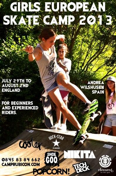 girls skate camp 2013 v1.2