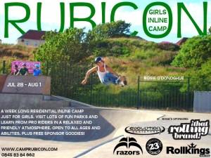 girls inline camp 2014 ft rosie odonoghue