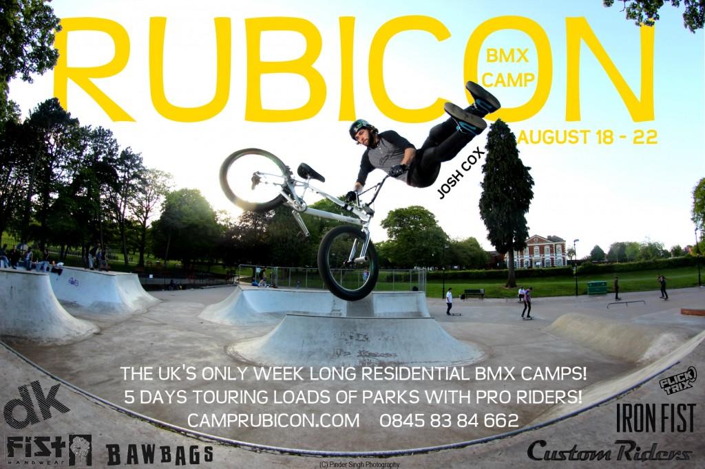 rubicon bmx camp 2014 ft josh cox